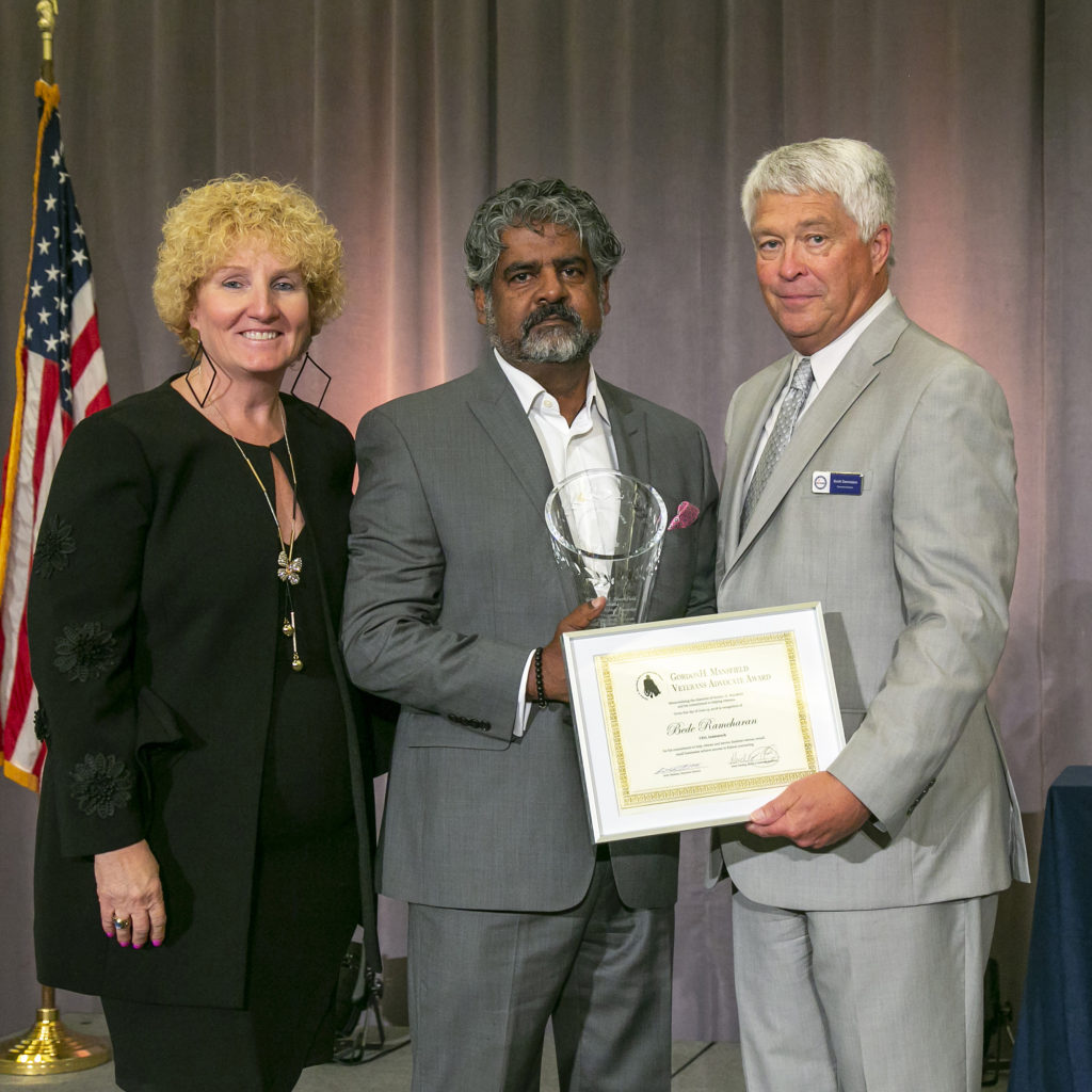 2018 Gordon H. Mansfield Award Recipient - Bede  Ramcharan, President And CEO Of Indatatech
