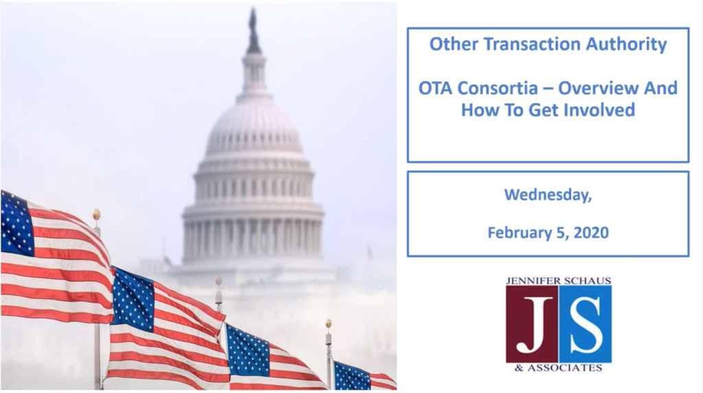 OTA Consortia Overview - And How To Get Involved - February 5, 2020